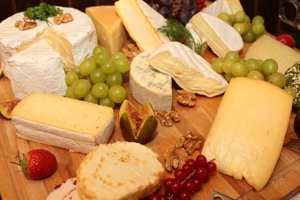 Paniers gourmands Au Val Frais - Plateau de fromages